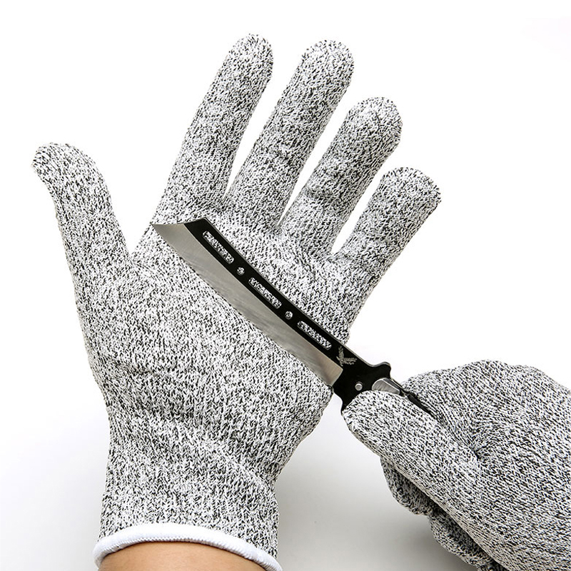 High-Performance 5-Level Protection Anti Cutting Protection Gloves NEW Resistant Gloves Kitchenn Food Workplace Safety Gloves