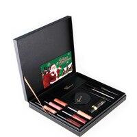 Makeup Cosmetic Set Lip Gloss Eyebrow Pencil Eye Shadow Gift Box For Christmas