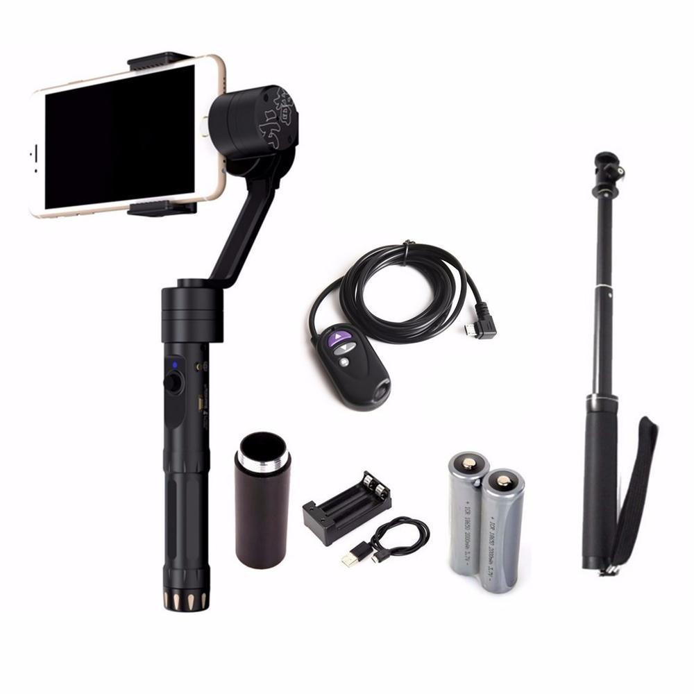 Zhiyun Z1-Smooth-II 3-Axis Joystick Handheld Steady Gimbal Tripods for iPhone Huawei < 7 Smartphone