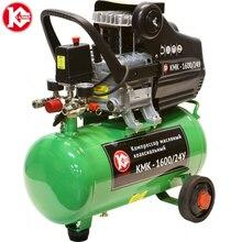 Компрессор масляный Калибр КМК-1600/24У Мощность 1600 Вт, производительность 198 л/мин, давление 8 бар, рессивер 24 л