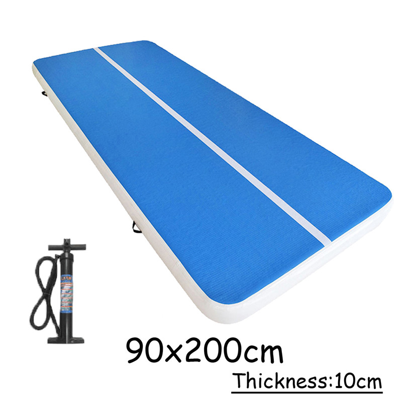 Air Track Inflatable Gym Mat Air Tumbling Track Gymnastics Inflatable Gym Mat Trampoline Inflatable Air Tumble Track цена