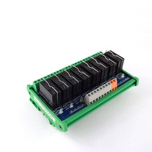8-way Omron Single Open Module 16A Omron Relay Module Electromagnetic Relay