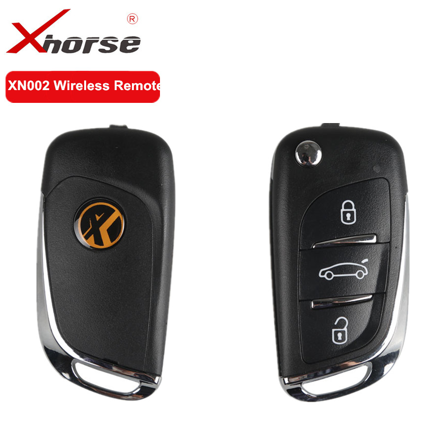 XHORSE XN002 Wireless Remote Key For DS Type English Universal Remote Key 3 Buttons Work With VVDI2 and VVDI Key Tool 1 PCS original xhorse vvdi2 commander key programmer with basic bmw and obd functions