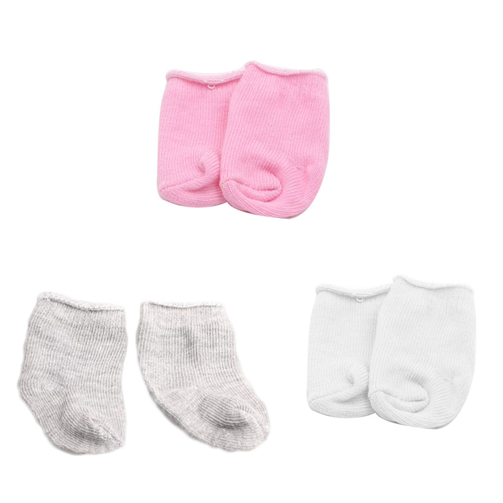 купить Fashion Doll Accessories Sock Fit For 18 Inch American Girl Doll Socks по цене 28.37 рублей