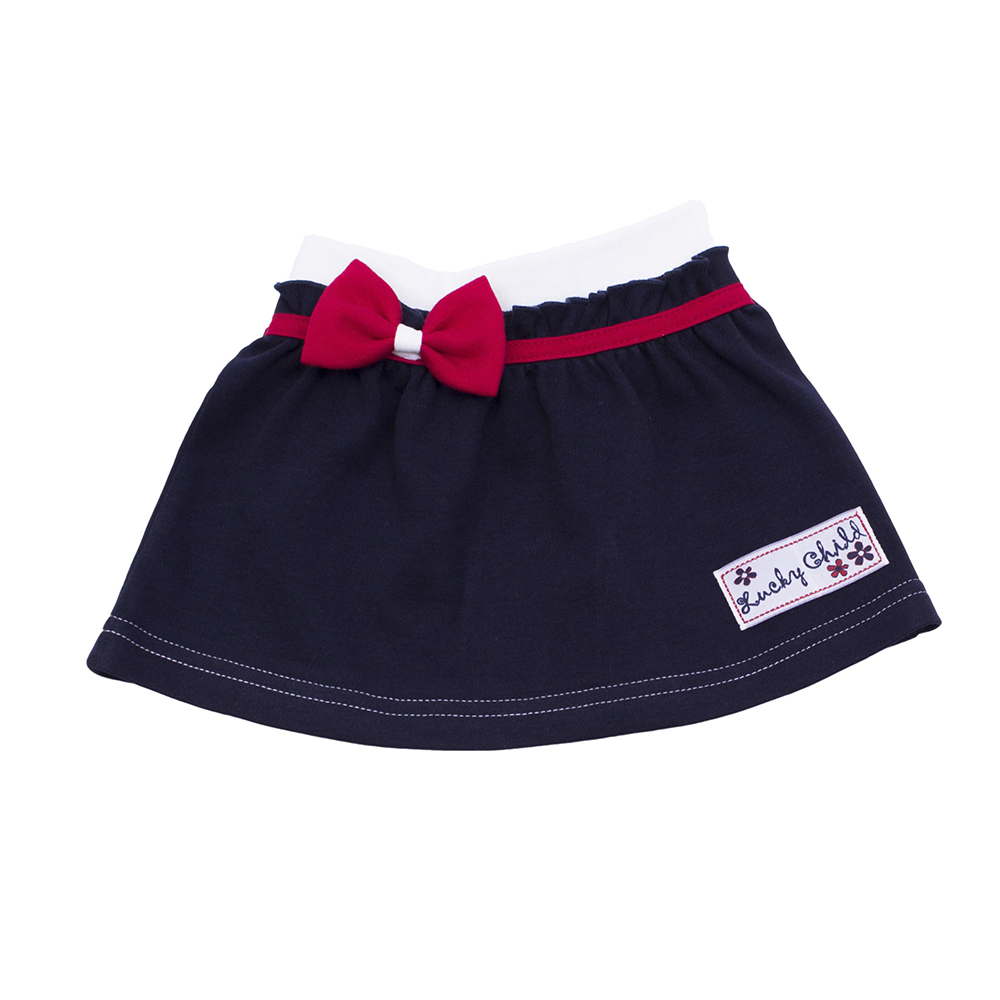 Skirts Lucky Child for girls 18-35 (24M-3T) Denim Skirt Children clothes skirts gulliver for girls 218gsgc6103 denim skirt children clothes kids
