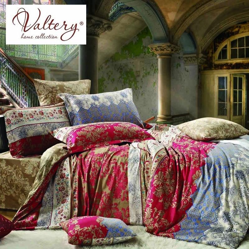 100% cotton satin jacquard flowers luxury bedding sets queen king size duvet cover bed sheet set bed set bed linen kit plaid 4pcs plaid duvet cover set