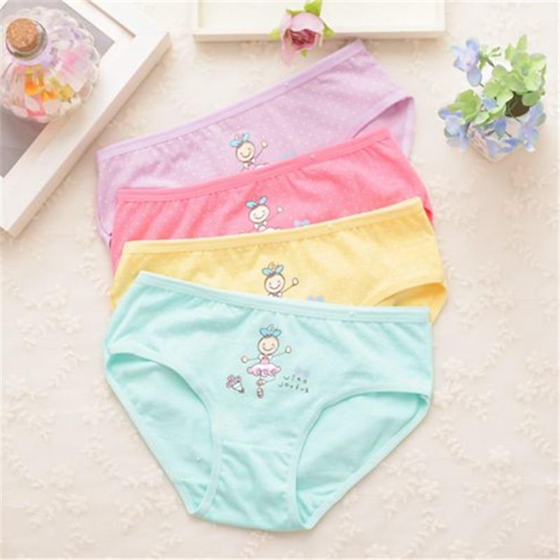 Underwear For Girls Underpants Panties  Briefs Short  Panties For Girls Calcinha Infantile Child's Kids Children H1082-4P 4p/lot