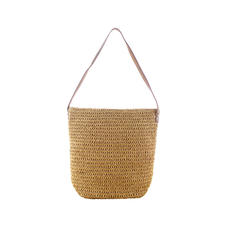 Women Summer Travel Straw Bags Ins Popular Female Hot Handbag Casual Lady Beach Shoulder Bag Large Holiday Knitted Bolsa Ss3251 Relieving Rheumatism Luggage & Bags Shoulder Bags