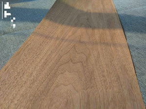 Image 2 - Custom Natural Genuine Black Walnut Wood Veneer for Furniture Stereo 0.2mm to 0.5mm C/C