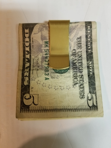 2019 Roestvrij koper Slim Pocket design heren Geld Clip Portemonnee Cash ID Creditcard vintage zaakhouder Metal Bill Clamp! photo review