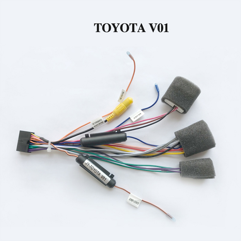 Wiring harness cable for Toyota only for ARKRIGHT Car Radio Android Device