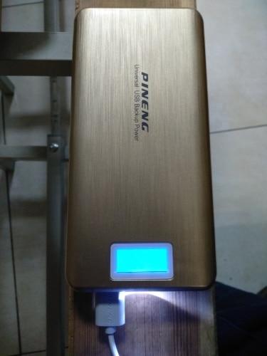 PINENG PN999 20000 mAh PowerBank Dual USB External Battery Charger Portable Power Bank LCD Display