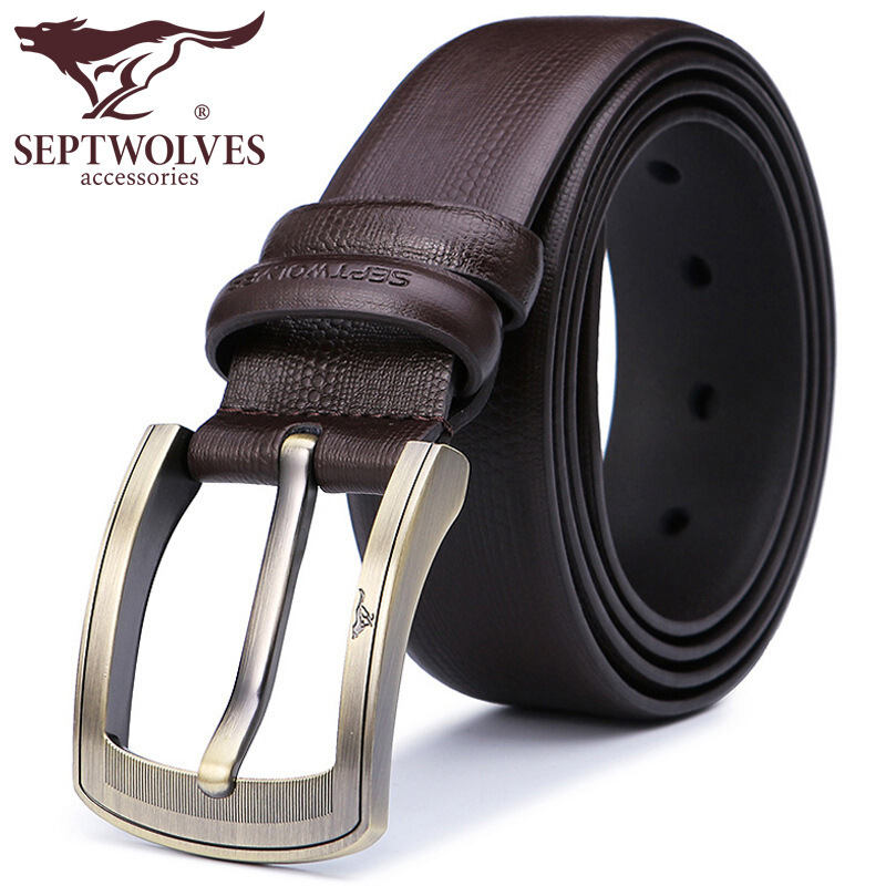 """Los hombres vestido negro cinturón de cuero Reversible 1,5 """"amplia rotación hebilla bolsa de regalo 7A1207700-1"""