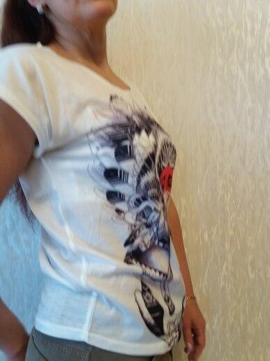 Kaitingu 2017, Новая мода Винтаж сезон: весна–лето Футболка женская одежда Топы корректирующие животных Сова футболка с принтом белые женские одежда