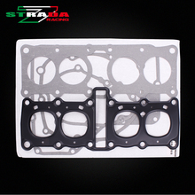Full Complete Engine Gasket Kit Cylinder Cover Bottom Stator Set For Yamaha FZR250 1HX small ban  Motorcycle Accessories