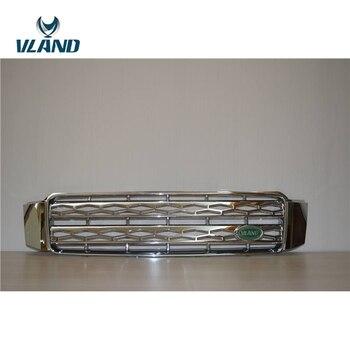 VLAND Car Accessories For Grille For Highlander Front Grille 2000-2007 Kluger Grille Plug And Play