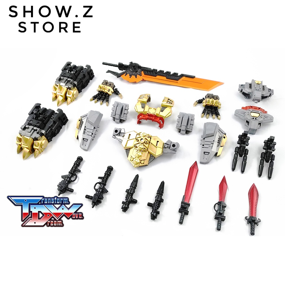 [Show.Z Store] Transformation Dream Wave TDW TCW-06 POTP Dinobot Volcanicus Upgrade Kit Transformation Action Figure [show z store] g creation gdw 03 fuuma sixshot idw transformation action figure
