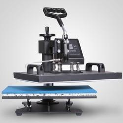 5/6/8 In 1 Digital Heat Press Machine Transfer Sublimation T-Shirt Mug Hat Cup Plate