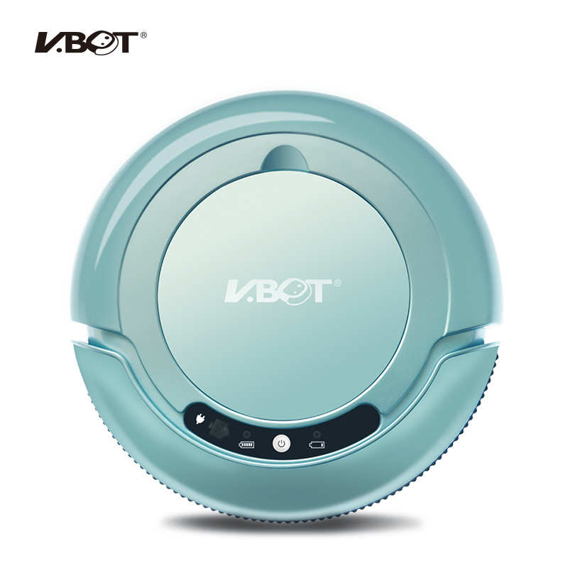 VBOT T270 Smart Robot Vacuum Cleaner 500PA Power Suction for Thin Carpet, with Dust Paper vbot t272 robot vacuum cleaner home household 500pa power suction sweep machine for pet hair with remote control and mop