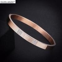 Dubai Gold Bangles Bracelets For Women Rose Gold Silver Steel Bangle Stainless Bracelet Fashion Polish Christmas