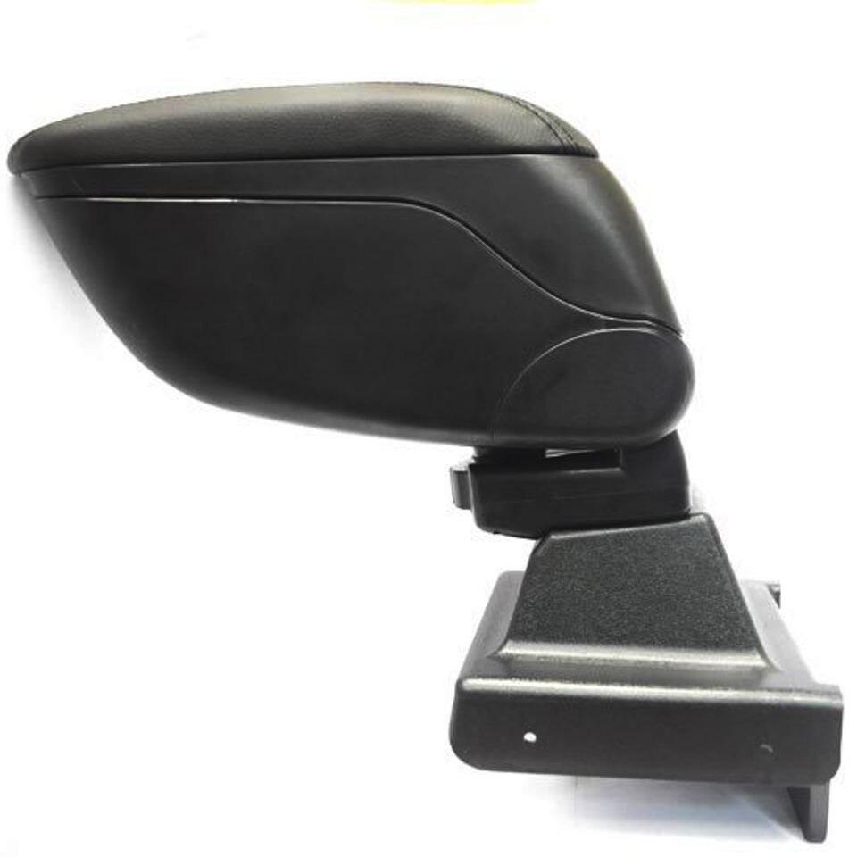 For Skoda Octavia A7 2013-2019 car armrest with inner boxing black color PCHSKA7 for volkswagen polo sedan 2009 2019 armrest with inner boxing on staffing mount pcvwp9v