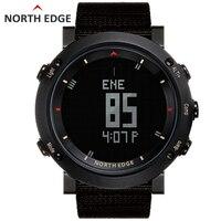 Мужские спортивные цифровые часы водостойкие красочные спортивные часы Бег Плавание высотомер барометр компасы погода Северный край