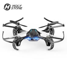 [EU USA Stock] Holy Stone HS170G blue Mini Drone RC Drone Quadcopters Altitude Hold Headless Mode One Key Return 3D Flip Drone
