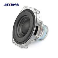AIYIMA 3inch Protable Subwoofer Speaker 4 ohm 30W Desktop Deep Bass Long stroke Foam Neodymium Speaker For GO PLAY Micro