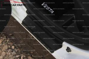 Image 5 - צלחת על דלת אדני לאדה סטה 2015 1 סט/4 pcs ABS פלסטיק לקצץ אביזרי הגנה של שפשוף רכב סטיילינג קישוט