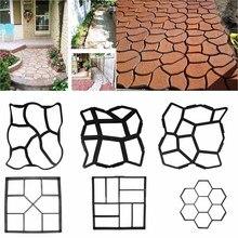 Сад Путь чайник Плесень ходить тротуар конкретные формы DIY вручную укладки цемент кирпич камень Road конкретные формы pathmate формы