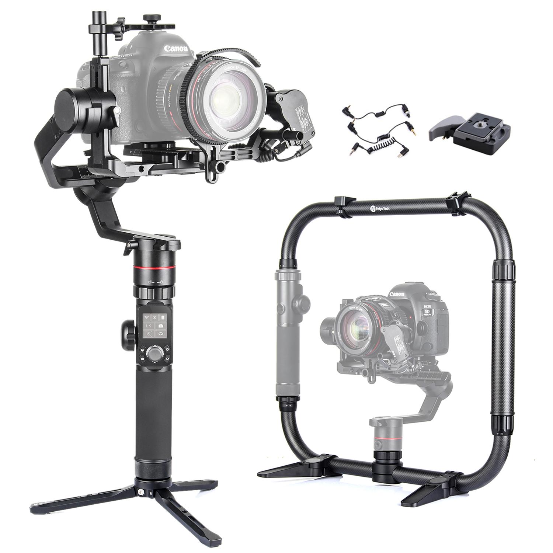 Canon EOS 5D Mark II Vertical Shoe Mount Stabilizer Handle Pro Video Stabilizing Handle Grip for