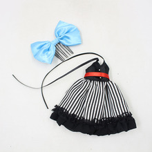 Neo Blythe Doll Stripe Dress With Bow