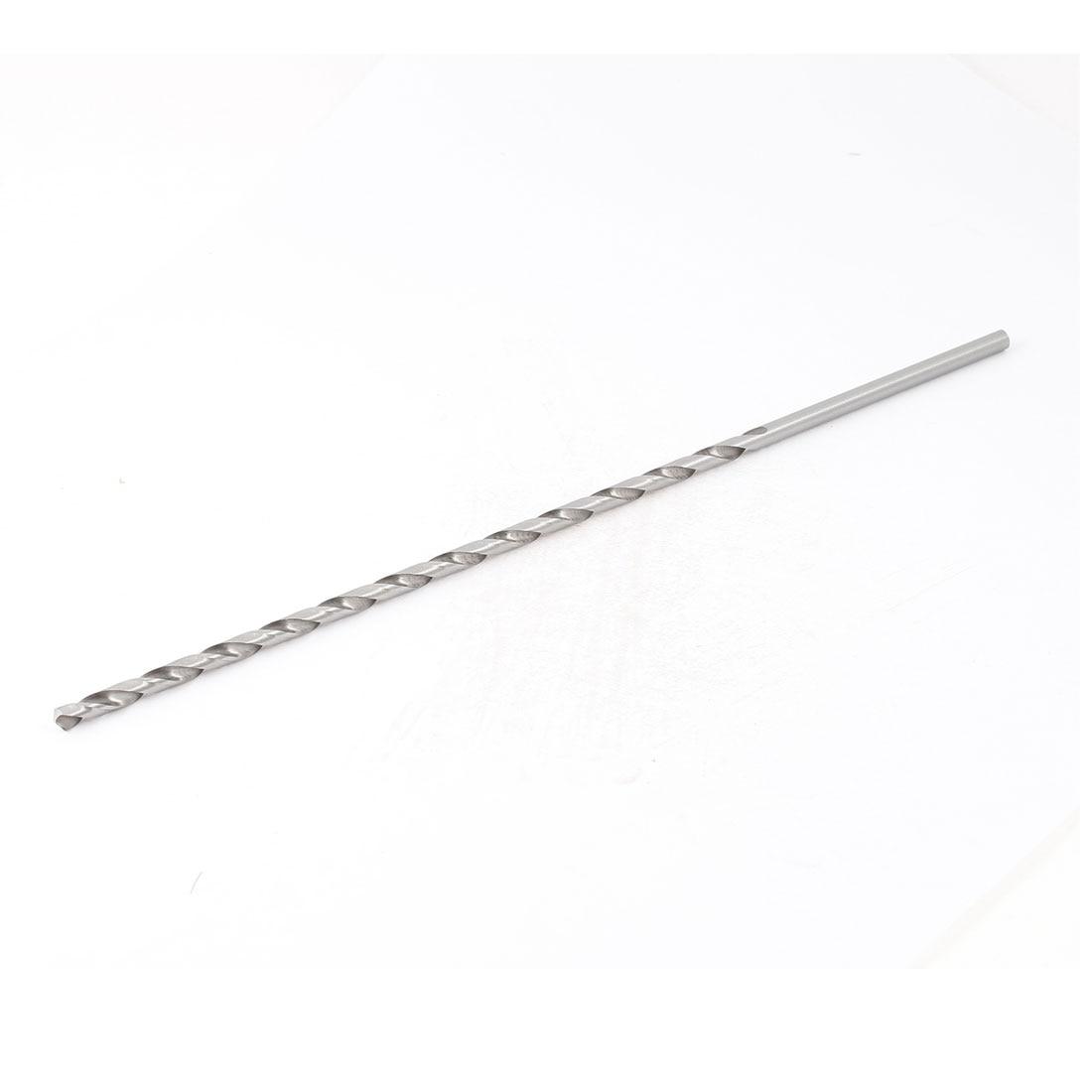 Подробнее о UXCELL 5Mm X 250Mm Straight Shank Twist Drilling Bit For Electric Drill bit | drill | twist uxcell 17mm shank 270mm length electric pick hexagon flat spade for makita 0810