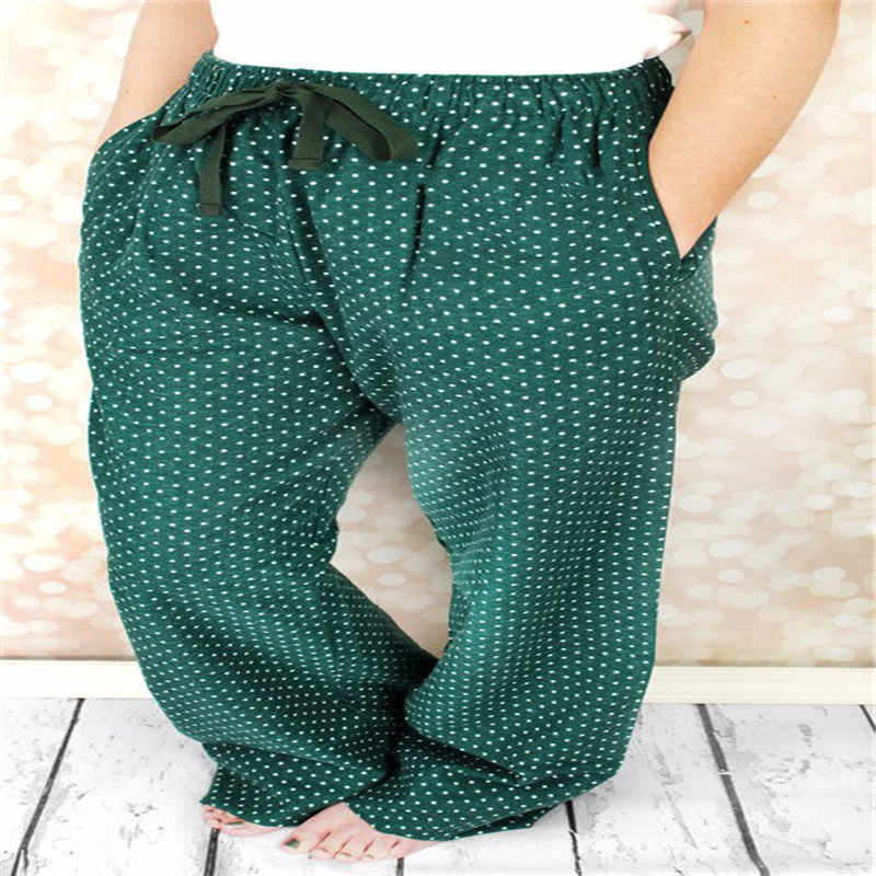 b57e9894b0be3 ... Домашние штаны женские повседневные пижамные штаны повседневные  рождественские домашние штаны в горошек новый дизайн унисекс свободные ...
