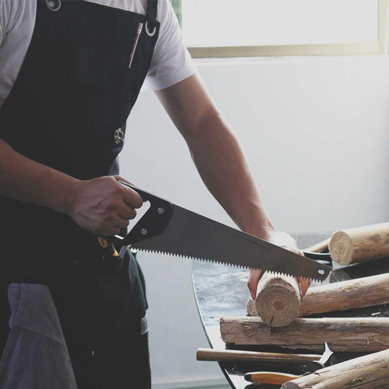 WEEYI Heavy Duty Oficina de Encerado de Lona Homens Avental com Bolsos Preto Cruzar de Volta Cinta para Woodworker Sapateiro Barbeiro Pequeno para XXL