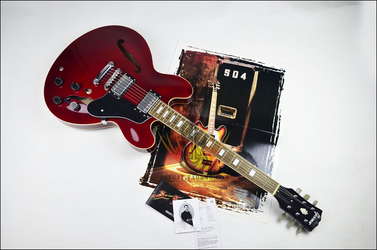 buy es335 electric guitar top selling es 335 semi hollow jazz style electric. Black Bedroom Furniture Sets. Home Design Ideas