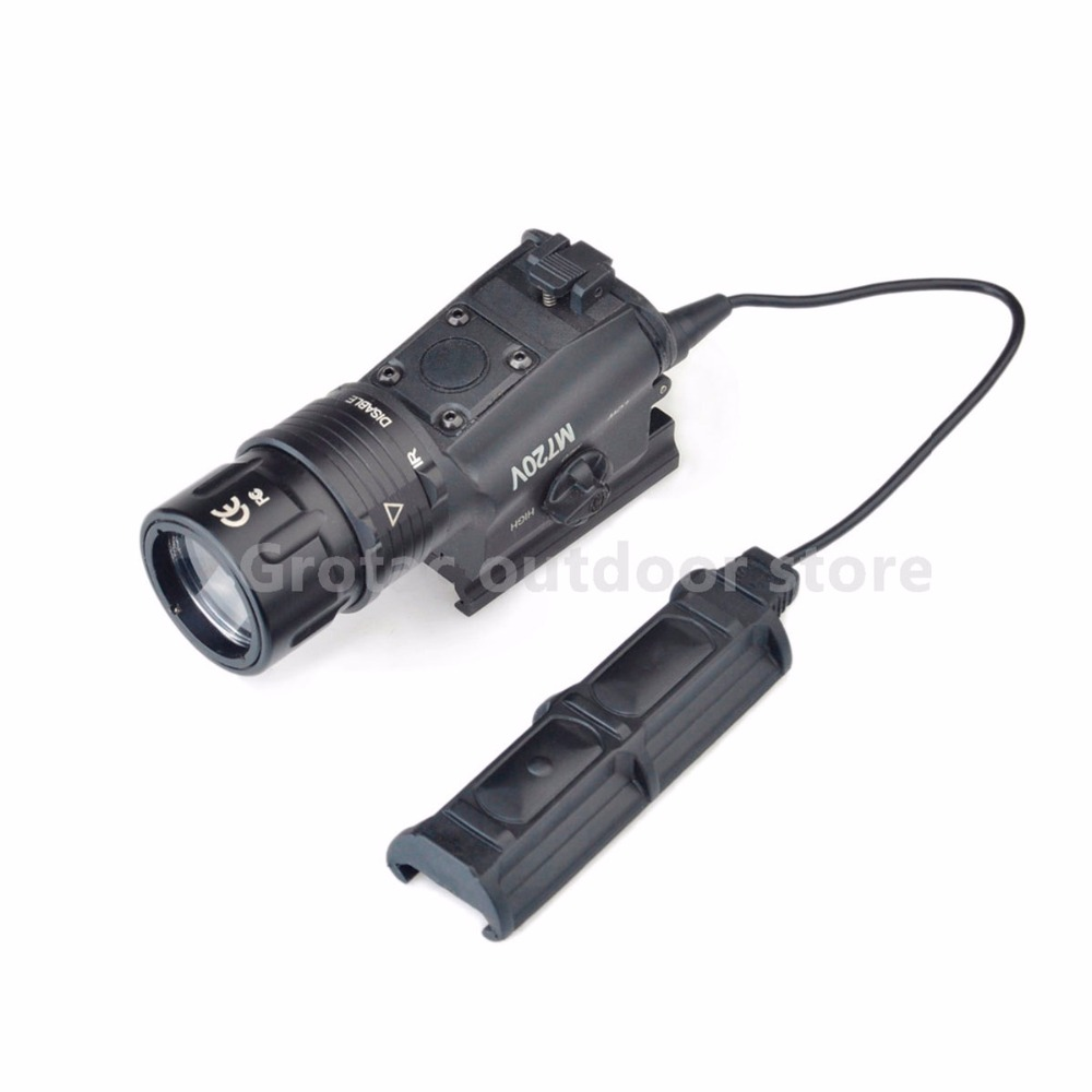 Element M720V Tactical Light LED Weapon Light Strobe Version flashlight STROBE VERSION Hunting Weapon Light night