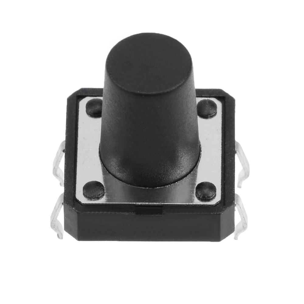 UXCELL 20Pcs 12x12x12mm Switches Panel Mini Small PCB Momentary Tactile Tact Push Button Switch DIP High Precision Mechanism in Switches from Lights Lighting