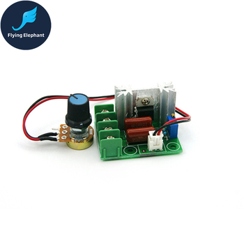 2000W SCR Electronic Voltage Regulator 220V Dimming Dimmer 25A  for Lamp Speed Voltage Temperature Control