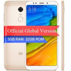 Global Version Xiaomi Redmi 5 plus 5.99 inch 18:9 Full Screen Smartphone 3GB 32GB Snapdragon 625 Octa Core 4000mAh MIUI 9.2.6
