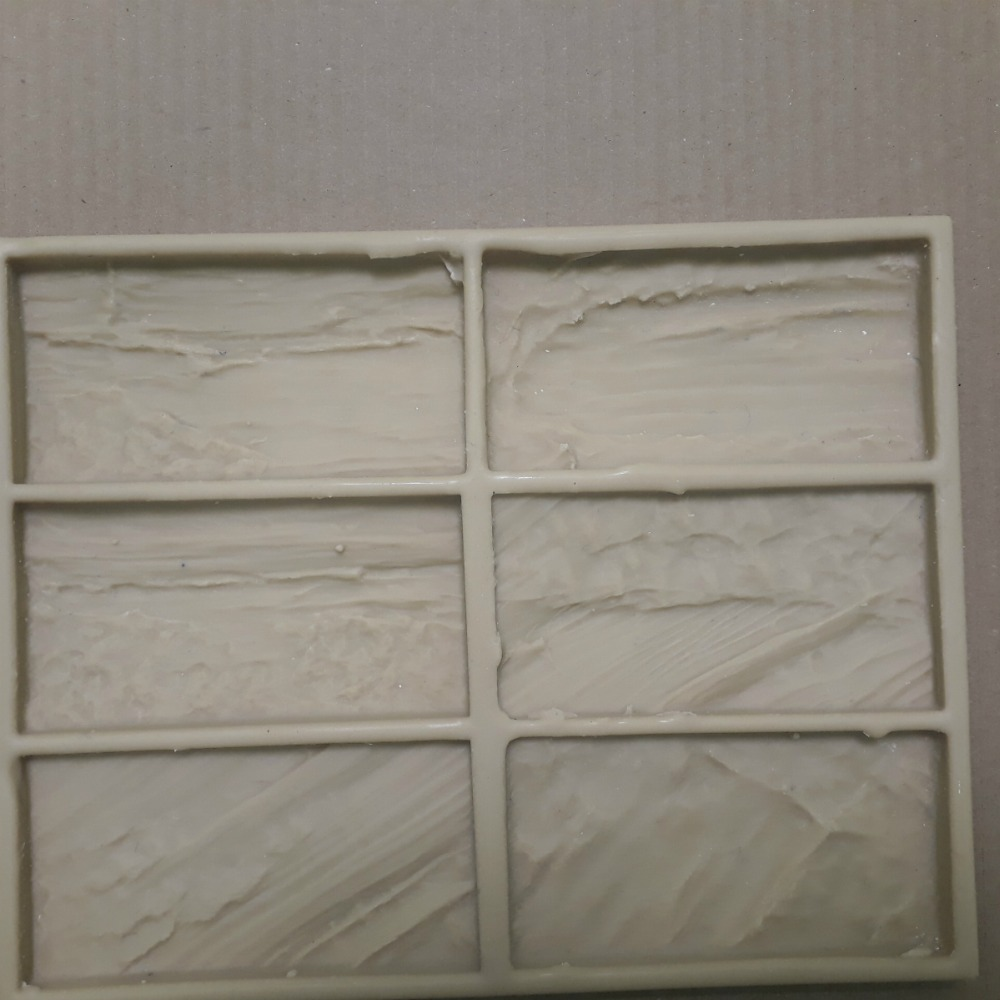 Polyurethane Molds for Concrete Plaster Wall Stone Cement Tiles Decorative wall
