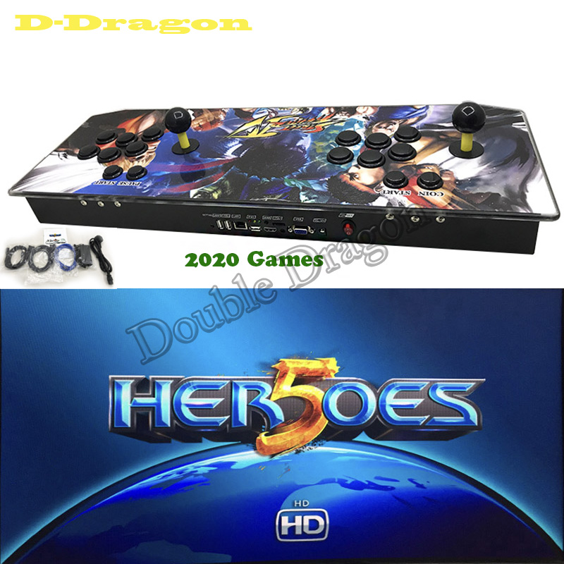 Ps3 Games 2020.Us 202 99 Newest Jamma Push 2020 In 1 Arcade Game Console Heroes 5 Hdmi Joystick Console Usb To Pc Ps3 Joystick Push Buttons In Coin Operated Games