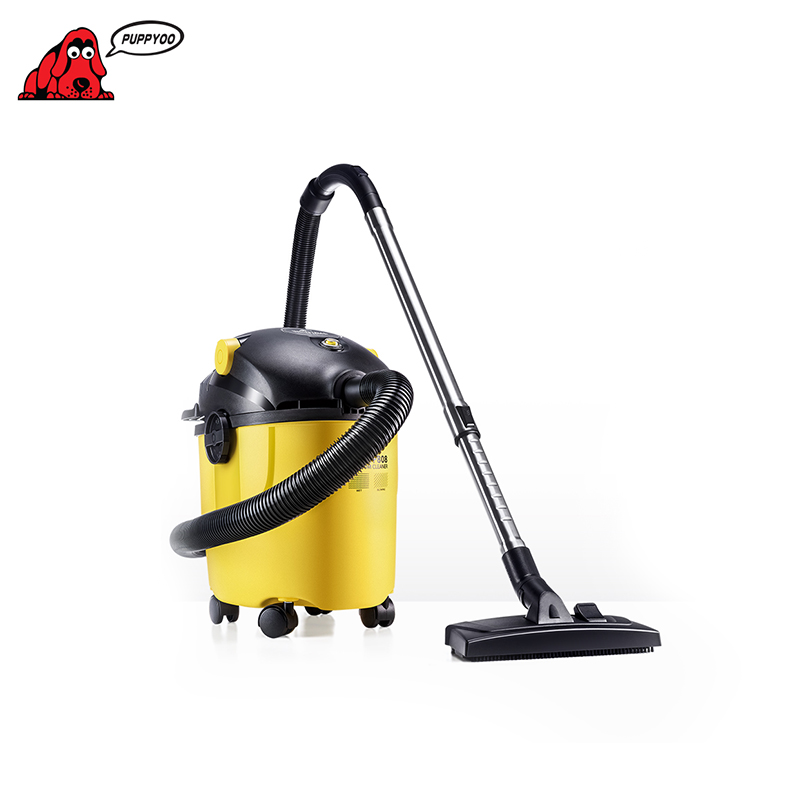 Industrial Vacuum Cleaner Puppyoo WP808 High Suction Big Dust Box Cyclone Home Portable household vacuum suction face pores nose blackhead cleaner deadskin peeling removal microdermabrasion beauty instruments skin care