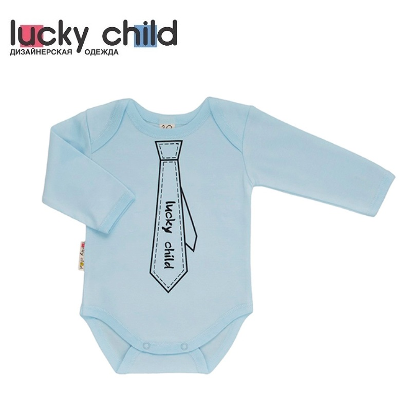Bodysuits Lucky Child for boys 3-19 Body Newborns Babies Baby Clothing Children clothes made in russia