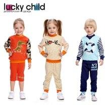 Лонгслив Lucky Child L1-12 [сделано в России, доставка от 2-х дней]