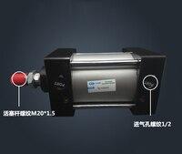 SC100 * 400 Бесплатная доставка Стандартный Воздушные цилиндры клапан 100 мм диаметр 400 мм ход одного стержня пневматический цилиндр двойного дей