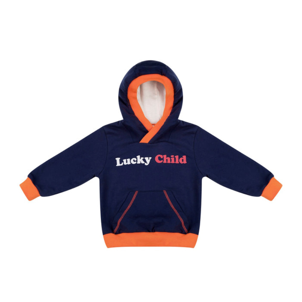 Фото - Sweater & Sweatshirts Lucky Child for boys 32-33f  Kids Sweatshirt Baby clothing  Children clothes Jersey Blouse Hoodies contrast lace keyhole back blouse