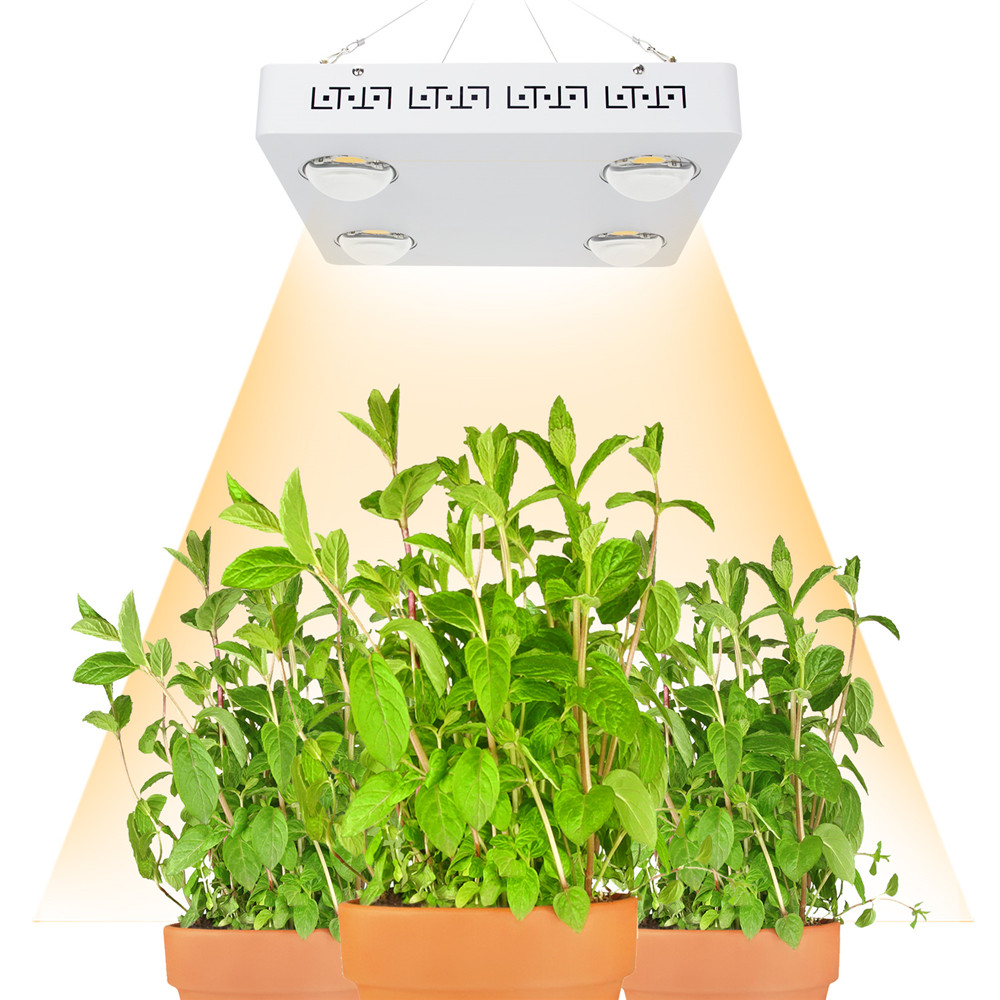 Pode ser escurecido CREE 48000LM CXB3590 COB 400 W LEVOU Crescer Espectro Completo de Luz = 600 W HPS Crescer Lâmpada Planta de Interior painel de Iluminação de crescimento