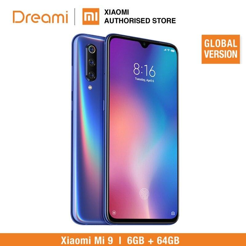 Version mondiale Xiao mi mi 9 64 GB ROM 6 GB RAM (Rom officielle) STOCK prêt