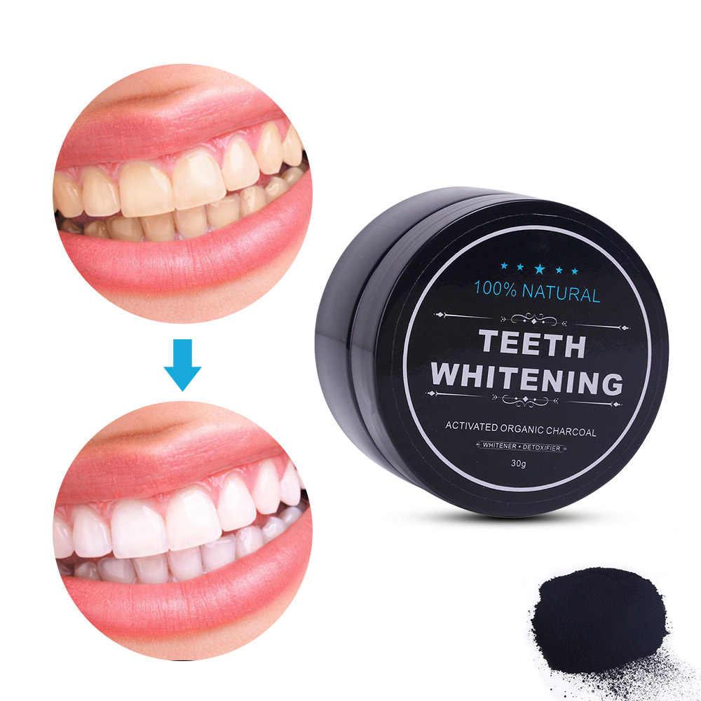 معجون أسنان طبيعي مدهش 10 جرام معجون أسنان تايلاندي تركيبة قوية 30 جرام بودرة تبييض أسنان فحمية مفعلة معجون أسنان